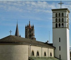 Baptême des Cloches de la basilique Notre Dame de Lausanne